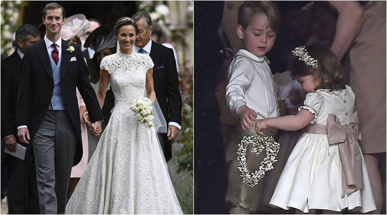 Pippa Middleton The Sister Of Kate Duchess Cambridge Married Hedge Fund Manager James Matthews In A Ceremony Where Her Niece And Nephew Prince George