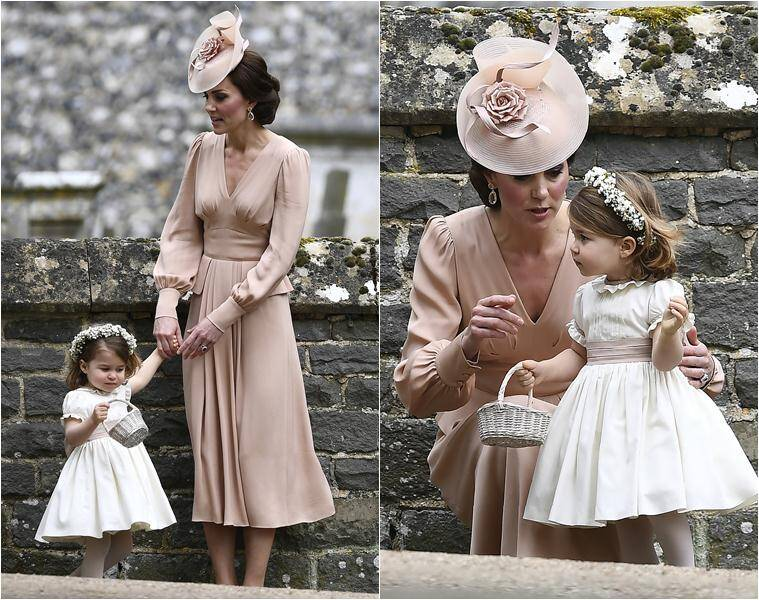 Prince George and Princess Charlotte steal the thunder at ...