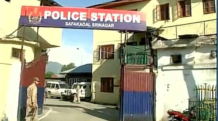 Jammu and Kashmir, attack on police station, Srinagar police station