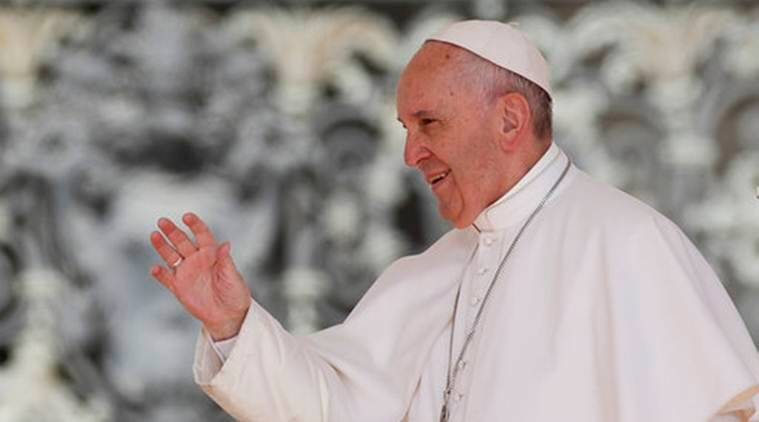 Pope Francis, conflict's wounds, pope conflict wound, colombia pope, farc, pope peace, indian express, world news
