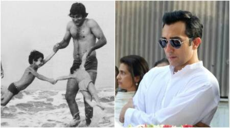 Rahul Khanna remembers Vinod Khanna and thinks it was just 'yesterday' when his father was with him. See pic