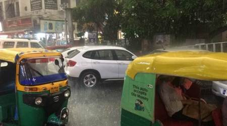 Rain lashes Delhi-NCR, brings respite from scorching heat