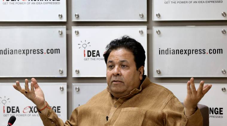 Rajeev Shukla attacks Modi
