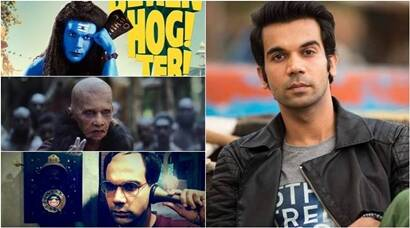 Raabta to Behen Hogi Teri to Bose, all the times when Rajkummar Rao left us shocked with his onscreen makeovers. See photos