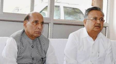 Rajnath Singh to review security in Maoist-hit states