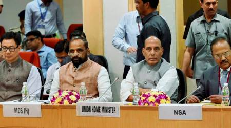 Camps for security forces must have proper facilities: Rajnath Singh