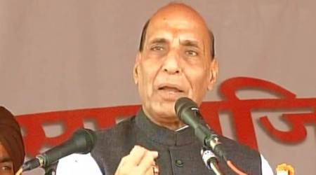 Rajnath Singh urges youths not to fall prey to terror designs