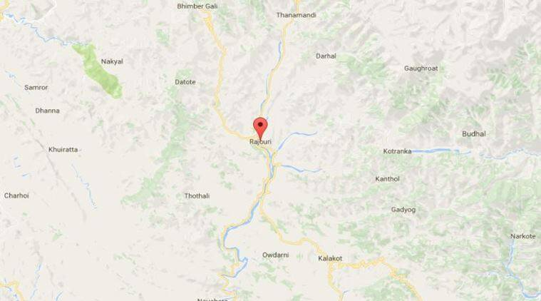 jammu kashmir, rajouri district, land encroachment, indian express