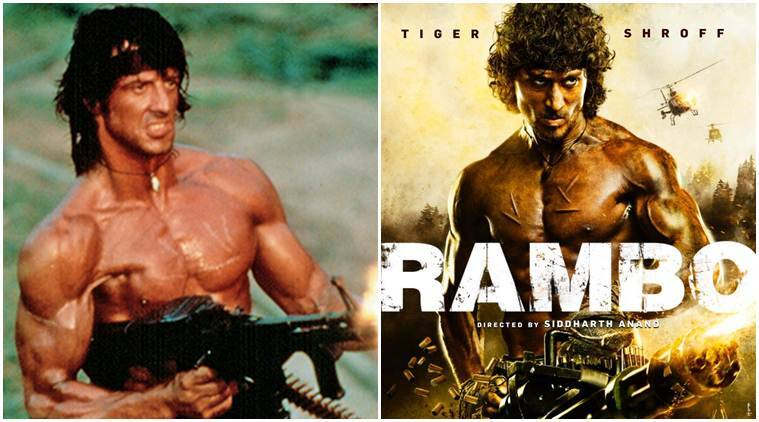Sylvester Stallone Tiger Shroff Tiger Shroff Actor Rambo Rambo Movie Tiger