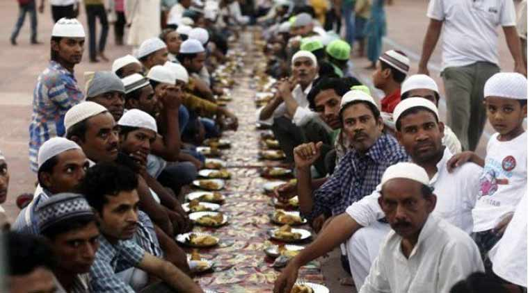 bhopal's vegetarian iftaar, ramzaan, india news, indian express news