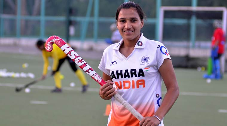 Rani Rampal. Rani Rampal India, India Rani Rampal, India vs New Zealand, New Zealand India, sports news, sports, hockey news, Hockey, Indian Express