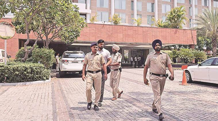 Fancy number, Punjab IGP Nirmal Singh Dhillon, Driving scam, Punjab, Chandigarh police, Indian express news, India news,