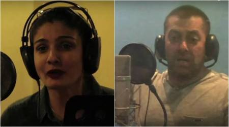 Salman Khan turns Hanuman in Hanuman Ka Damdar, Raveena Tandon plays his mother. Watch video