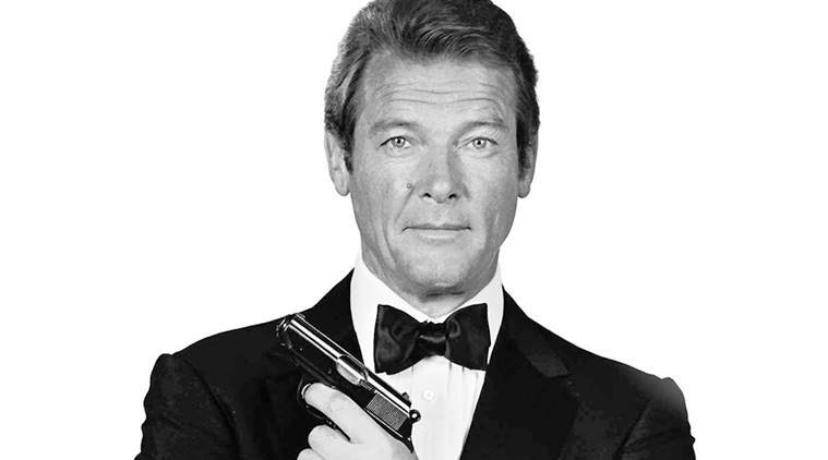 The Physics of being Roger Moore   The Indian Express
