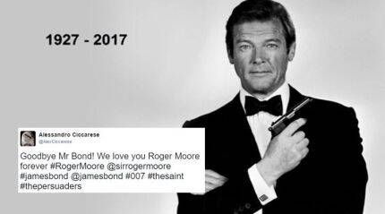 Sir Roger Moore dies at 89; Twitterati mourn death of the James Bond actor