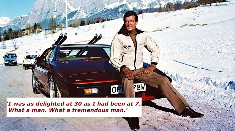 Roger Moore, james bond, roger moore fan, story about roger moore, fan's story about roger moore, indian express, indian express news