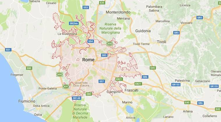 Explosion outside Rome post office damages vehicle