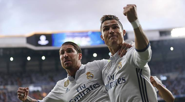 Ronaldo hat-trick shrinks Athletico Madrid