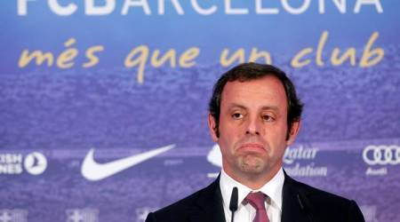 Ex-Barcelona president Sandro Rosell held in money laundering probe