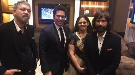 Sachin Tendulkar, Ajit Tendulkar, Savita, 'Sachin : A Billion dreams', ICC Champions Trophy 2017, England, Instagram, sports news, cricket news, indian express