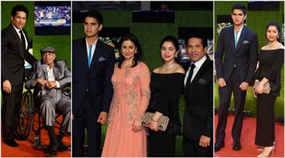 Sara, Arjun Tendulkar steal the show at 'Sachin: A Billion Dreams' premiere