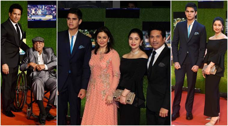 Sachin Tendulkar, Sachin, Sachin Tendulkar biopic, Sachin biopic, Sachin: A billion dreams, Sara Tendulkar, Arjun Tendulkar, Sara photos, Arjun photos, Cricket news, Cricket photos, Indian Express
