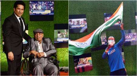 sachin tendulkar, tendulkar, master blaster, Sachin: A Billion Dreams, Ramakant Achrekar, sachin coach, sachin coach Ramakant Achrekar, sudhir, sachin fan sudhir, sachin premiere, cricket, sports news, indian express