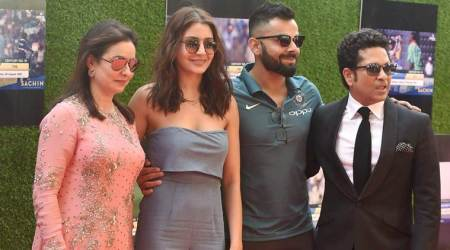 Virat Kohli, Anushka Sharma, Virat Anushka, Sachin: A billion Dream, Sachin: A billion Dream release, sports news, sports, cricket news, Cricket, Indian Express