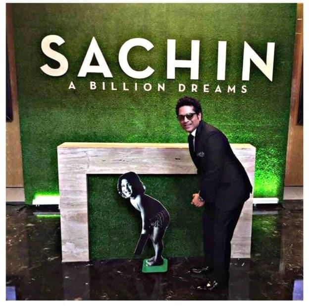 sachin tendulkar, sachin a billion dreams, sachin biopic world premiere, sachin world premiere pics,