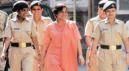 Sadhvi Pragya seeks discharge from Malegaon blast case