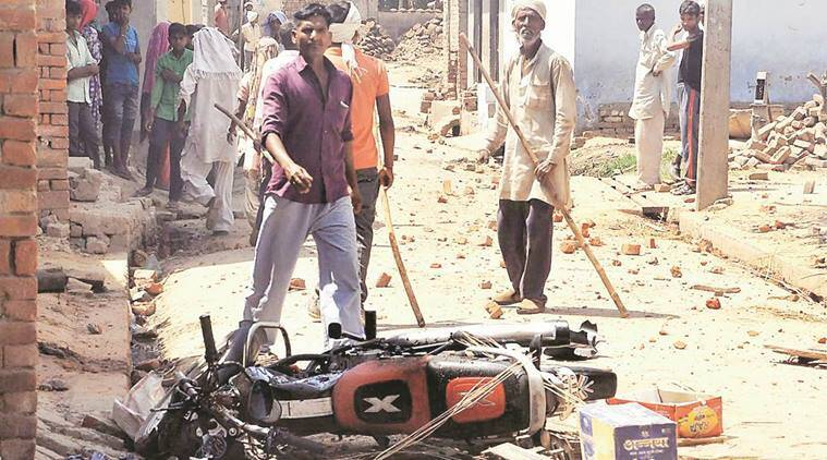 Saharanpur, Sharanpur clash, Saharanpur violence, SIT, SIT probe oin Saharanpur clash, Dalit-Thakur clash, indian express news