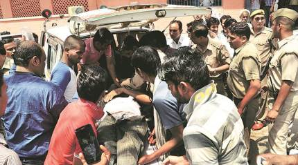 In Saharanpur, another youth shot at, UP govt suspends DM and SSP