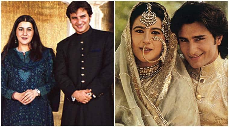 Saif Ali Khan, Saif Ali Khan actor, Saif Ali Khan news, Amrita Singh, Amrita Singh saif ali khan, sara ali khan