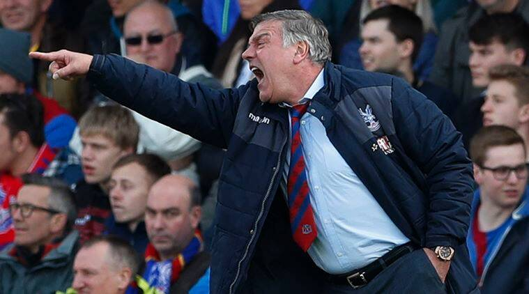 Sam Allardyce, Sam Allardyce news, Sam Allardyce manager, Sam Allardyce Crystal Palace, Crystal Palace Sam Allardyce, Jermain Defoe, sports news, sports, football news, Football, Indian Express