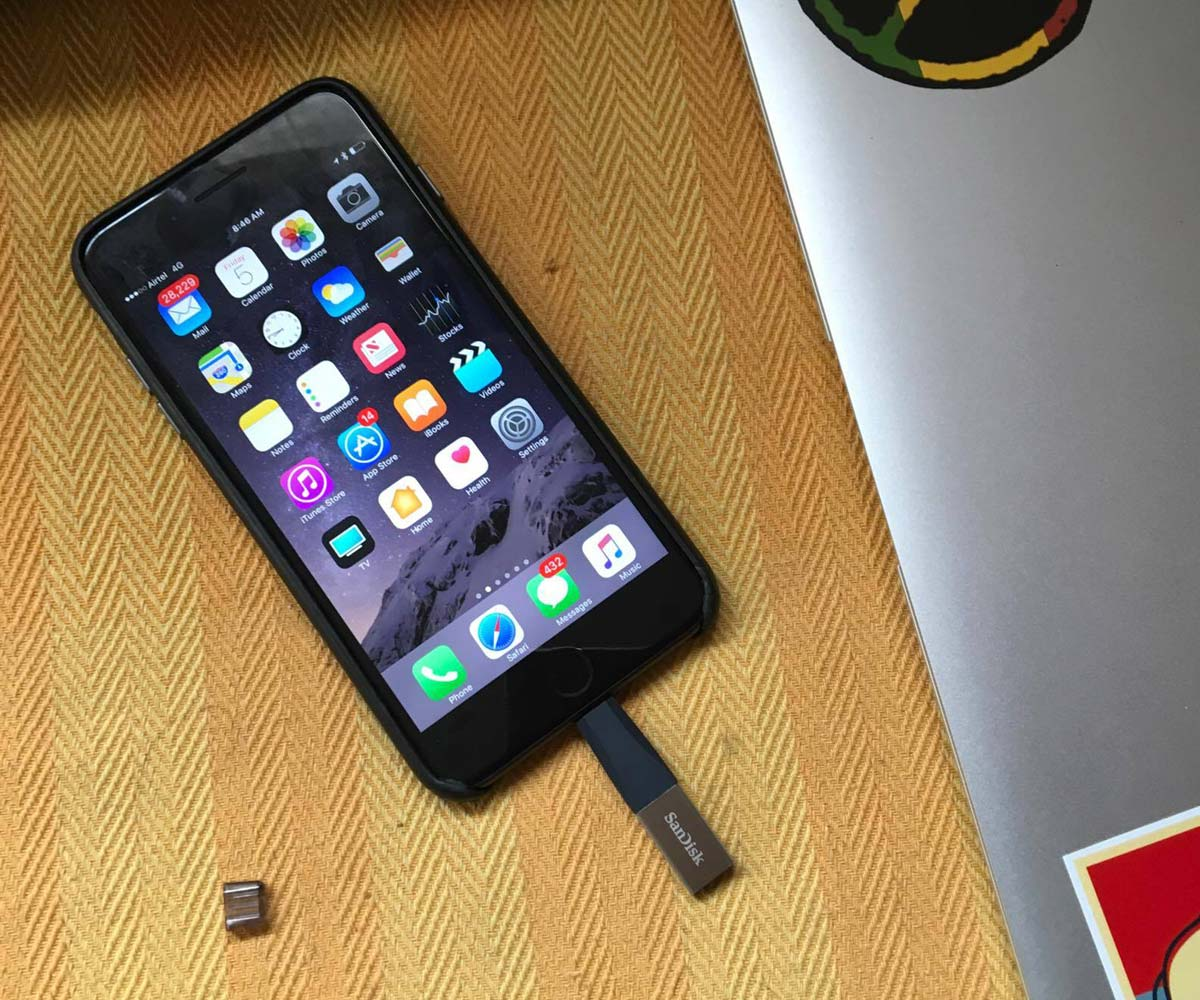 SanDisk iXpand Mini Flash Drive review: Extra storage for iOS