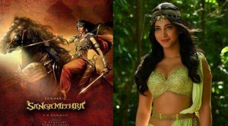 Here is the actual reason why Shruti Haasan opted out of Sangamithra