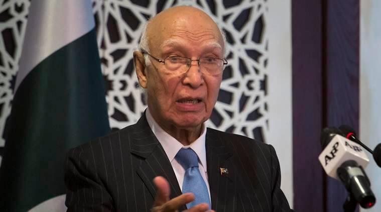 China Pakistan, Pakistan Afghanistan relations, Sartaj Aziz, Indian express, India news