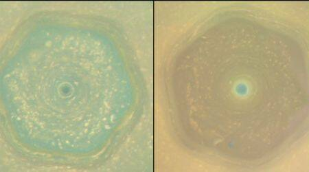 NASA's Cassini beams back images of Saturn's solstice