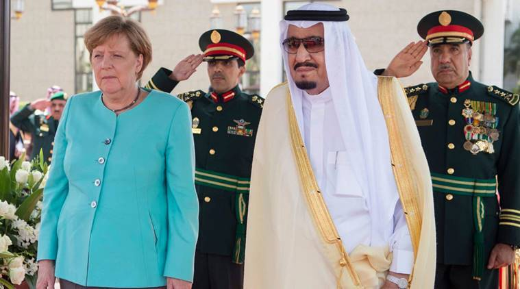 Merkel in Saudi Arabia for cooperation talks, other issues