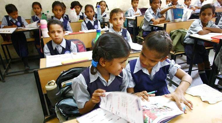 Gujarat schools, quota reimbursement, Indian Express News