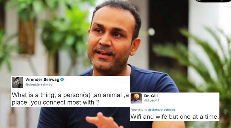 virender sehwag, virender sehwag tweet, virender sehwag latest tweet, sehwag latest tweets, sehwag latest twitter posts, virender sehwag posts, indian express, indian express news, indian express trending, sehwag twitter