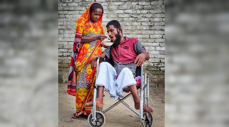 sex worker, prostitute, sex worker love story, sex worker love story, prostitute love story, prostitute love disabled beggar gmb akash, gmb akash photos, indian express, viral news, trending news, good news