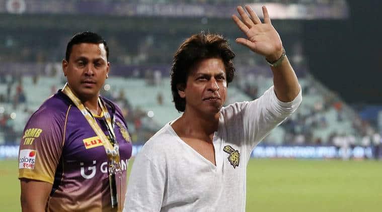KKR, KKR SRK, Shah Rukh Khan, SRK KKR, Kolkata Knight Riders, Eden Gardens, Bengaluru, IPL 2017, IPL SRK, Indian Premier League 2017, sports news, cricket news. indian express