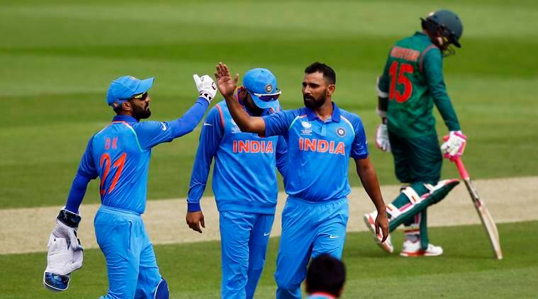 Mohammed Shami, Champions Trophy, India vs Bangladesh