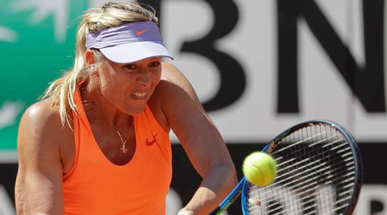 Maria Sharapova not allowed at French Open