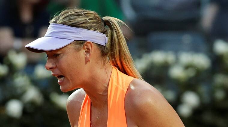 maria sharapova, sharapova, maria sharapova wild card, tennis wild card, sharapova doping, sharapova doping wild card, sharapova wild cards, tennis news, sports news, indian express