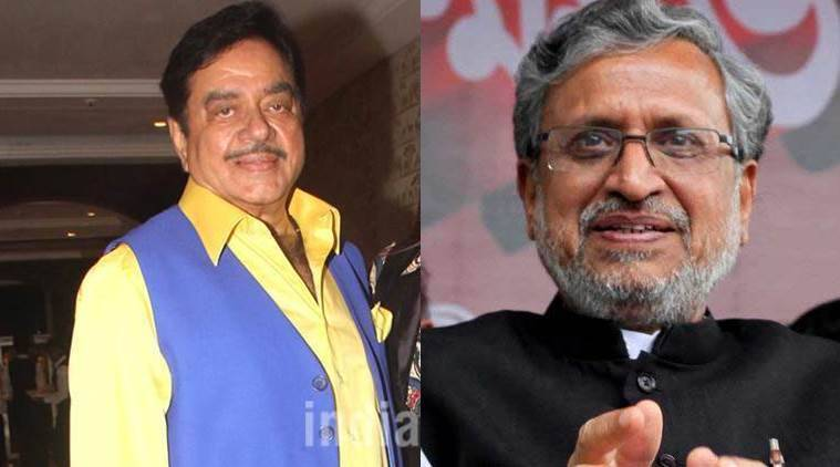 Sushil Modi and Shatrughan Sinha, Sushil Kumar Modi VS Shatrughan Sinha, BJP MP Shatrughan Sinha, Sushil Modi, BJP news, BJP fights news, BJP latest news, India news, National news, latest news