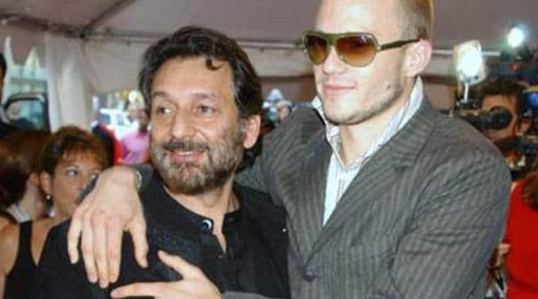 Shekhar Kapur, Heath Ledger, Shekhar Kapur heath ledger throwback pic, heath ledger shekhar kapur throwback pic,
