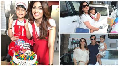 Shilpa Shetty's son Viaan turns five, star kids come calling at Masterchef theme party