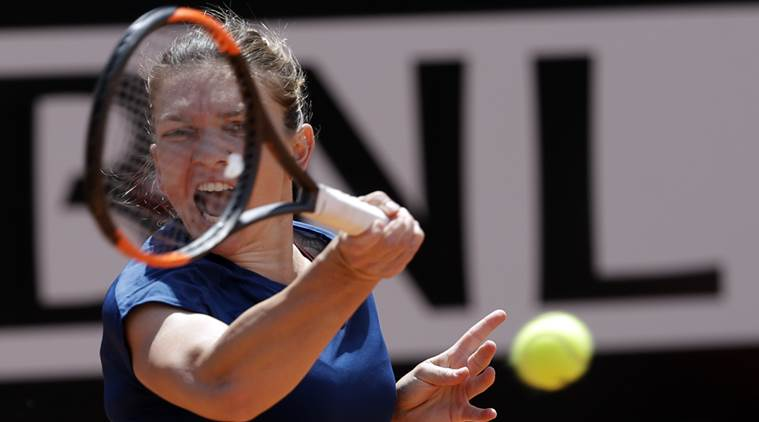 Simona Halep, Simona Halep news, Simona Halep updates, Simona Halep matches, Simona Halep French Open, sports news, sports, cricket news, Cricket, Indian Express